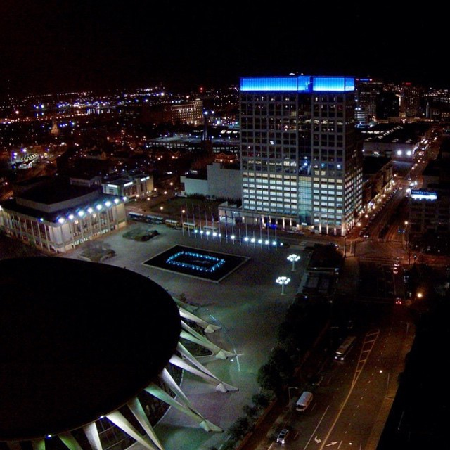Downtown Norfolk From Above